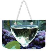 White Wine Reflections Weekender Tote Bag