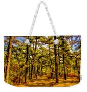 Whitebog Village Woods In New Jersey  Weekender Tote Bag