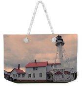 Whitefish Point Light Weekender Tote Bag