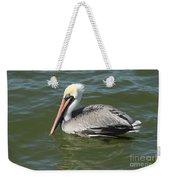 Whiteheaded Pelican Weekender Tote Bag