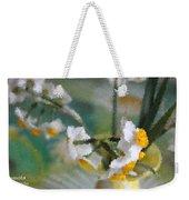Whiteness In The Vase Weekender Tote Bag