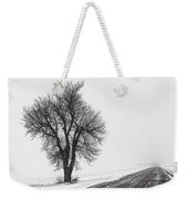 Whiteout Weekender Tote Bag
