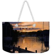 White's Cove Silhouette Weekender Tote Bag