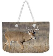 Whitetail Buck On The Move Weekender Tote Bag
