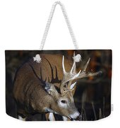 White-tailed Deer Antler Shadow Weekender Tote Bag