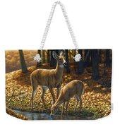 Whitetail Deer - Autumn Innocence 1 Weekender Tote Bag