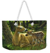 Whitetail Deer - First Spring Weekender Tote Bag