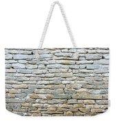 Whitewash Old Stone Wall Weekender Tote Bag