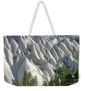 Whitewashed Rock From A Hot Air Balloon Weekender Tote Bag