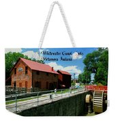 Whitewater Canal Locks Weekender Tote Bag