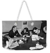 Whitney & Co. Investigation Weekender Tote Bag