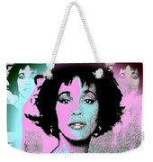 Whitney Houston Sing For Me Again Weekender Tote Bag
