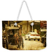 Who Are The Amish Weekender Tote Bag