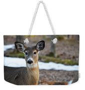 Who Is There Weekender Tote Bag