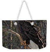 Who Ruffled The Feathers Weekender Tote Bag