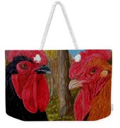 Who You Calling Chicken Weekender Tote Bag