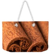 Whole Cinnamon Sticks  Weekender Tote Bag