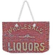 Wholesale Liquors Weekender Tote Bag