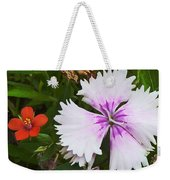 Who's The Nicest Weekender Tote Bag