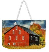 Why Do They Paint Barns Red? Weekender Tote Bag