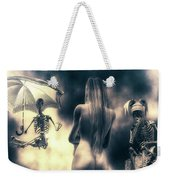 Why Follow The Yellow Brick Road - Penny-farthing Weekender Tote Bag