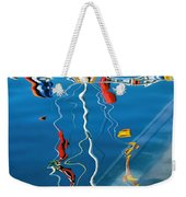 Wibbly Wobbly Flagpole Reflections Weekender Tote Bag