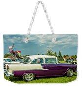 Wicked 1955 Chevy Profile Weekender Tote Bag