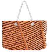 Wicker #2 Weekender Tote Bag