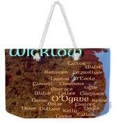Wicklow Families Weekender Tote Bag