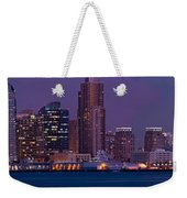 Wide Panoramic Of Scenic San Diego Weekender Tote Bag