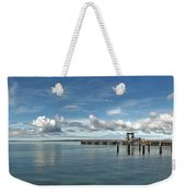 Wide View Of Kingscote Bay Weekender Tote Bag