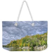Widewater Clouds Weekender Tote Bag