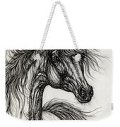 Wieza Wiatrow Polish Arabian Mare Drawing Weekender Tote Bag