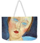 Wife Of The Painter Survage Weekender Tote Bag by Amedeo Modigliani
