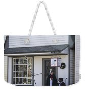 Wigmaker And Barber Shop Williamsburg Virginia Weekender Tote Bag