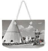 Wigwam Village #2 Coca-cola Sign Marion Post Wolcott  Cave City Kentucky July 1940-2014 Weekender Tote Bag