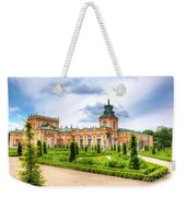 Wilanow Palace In Warsaw Poland Weekender Tote Bag