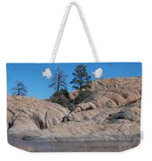 Willow Lake Number One Color Weekender Tote Bag by Heather Kirk