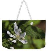 Wild Alabama Blackberry Blossom Weekender Tote Bag