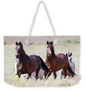 Wild And Free In The Field Weekender Tote Bag