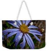 Wild Aster Flower Weekender Tote Bag