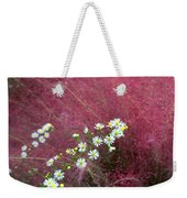 Wild Asters And Muhly Grass Weekender Tote Bag
