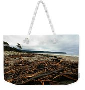 Wild Beach New Zealand Weekender Tote Bag