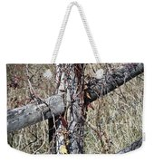 Wild Berries On Fence Weekender Tote Bag