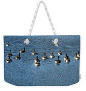 Wild Birds And Pond Weekender Tote Bag