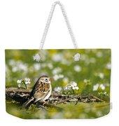 Wild Birds - Field Sparrow Weekender Tote Bag