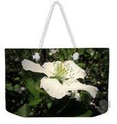 Wild Blackberry Blossom Weekender Tote Bag