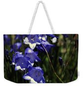 Wild Blue Bells Weekender Tote Bag