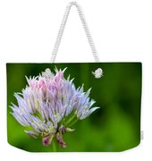 Wild Blue - Chive Blossom Weekender Tote Bag