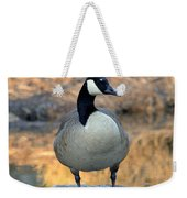 Wild Canadian Goose Weekender Tote Bag
